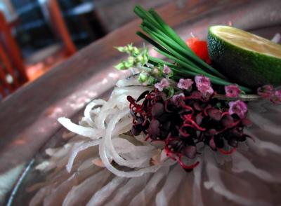 fugu plated