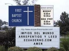 Church Sign Generator
