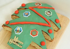 Xmas Tree Cake