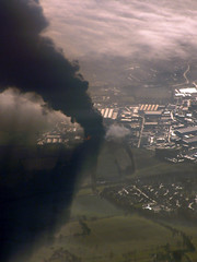 Fuel Depot Explosion - Airborne Capture III