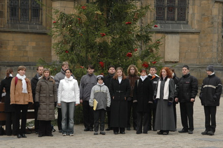 Chrismas Chorus at St. Vitus Cathedral