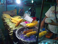 BBQ'd Corn on the Roadside