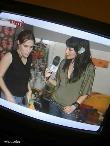 A. F. na TV