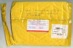 front of envelope from Ger