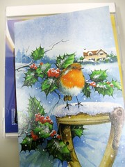 christmas card from Ger