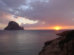 Eivissa al atardecer