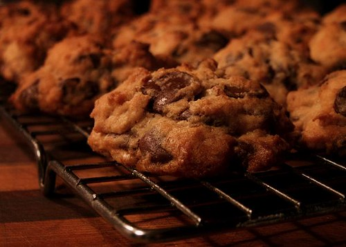 Jay's Ginger Chocolate Chip Cookies