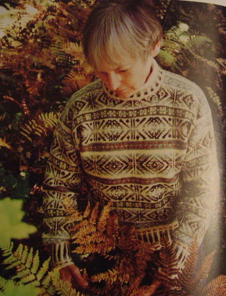 Traditional Fair Isle Jumper (Joyce Williams)