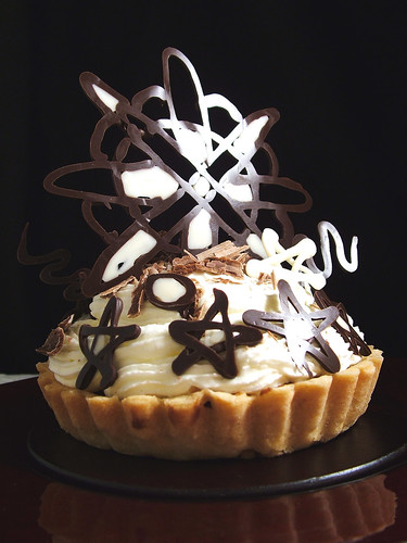 Creme chocolate pie