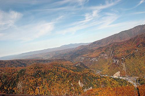 黑岳站的頂端拍的照片