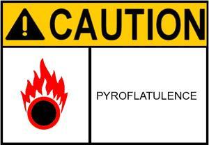 pyroflatulence