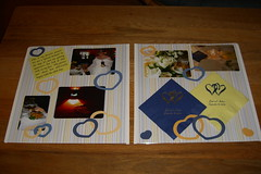 Wedding Reception Scrapbook -- Spread 3
