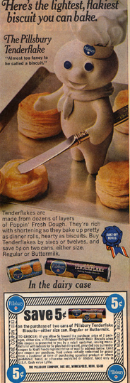 Vintage Ad #11 - Poppin' Fresh at the Briar