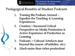iTeach, iLearn: Pedagogical Benefits