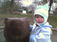 Celeste with Bear