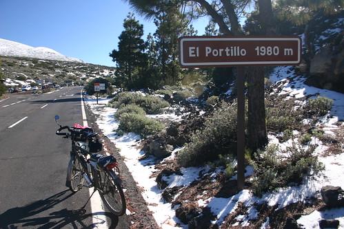 El Portillo (1980m). Parque Nacional del Teide