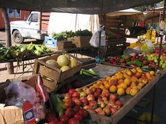 Sergio's market stand