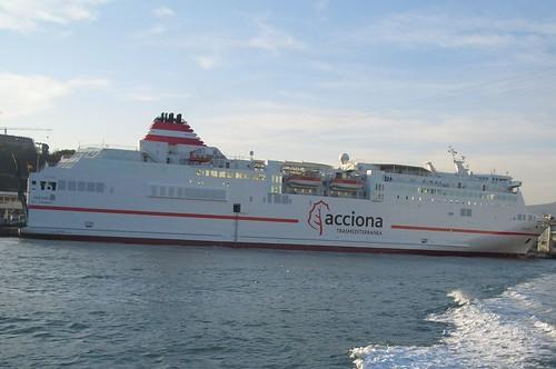 Fortuny, ferry gemelo del Sorolla