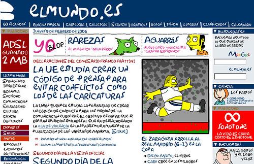 Publicidad de la FOX en EL Mundo Digital
