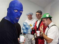 could this be the office halloween party?