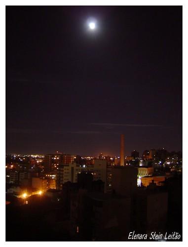 Porto Alegre by summer night