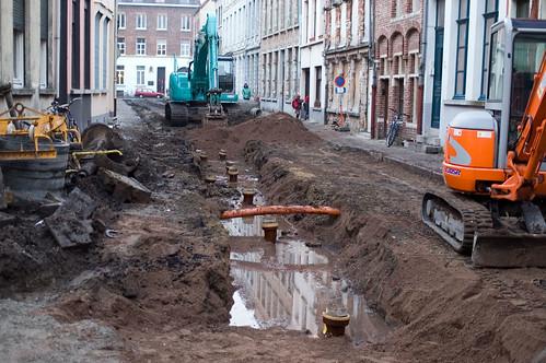 Sint-Katelijnestraat, werken