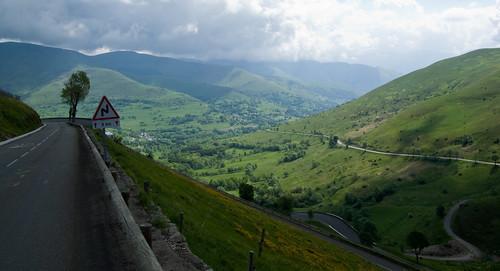 Col de Peyresourde - near top