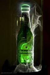Heineken on fire photo by Gabby Canonizado