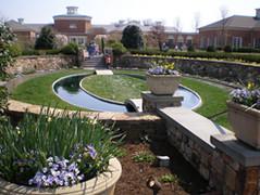 Sunken Garden Spring View