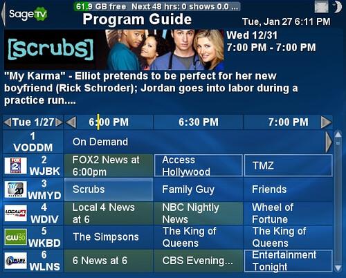SageTV fanart default 1