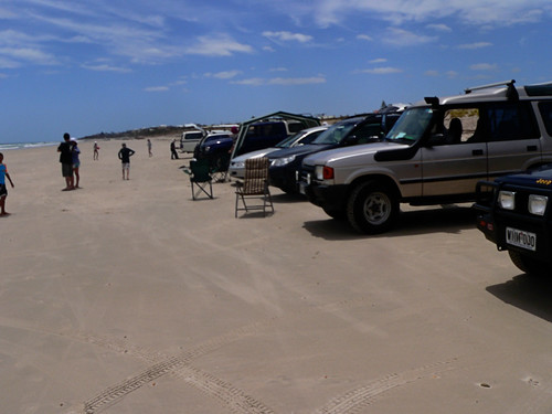 Cars at Silver Sands
