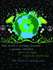 Earth Day Poster April 22, 2009