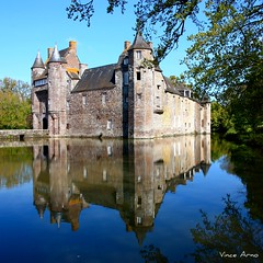 Château de Trécesson - Bretagne photo by Vince Arno