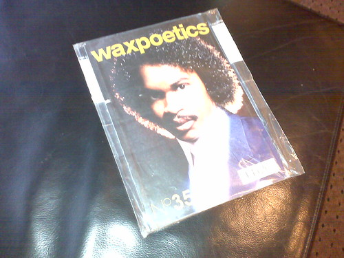 Received my wax poetics magazine!!!