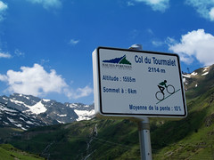 Tourmalet - steep stretch east side