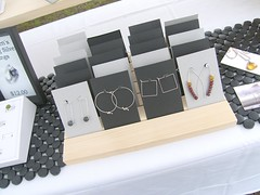 Earrings Display photo by Luttrell Studio