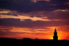 Sun Behind the Church photo by neatmummy