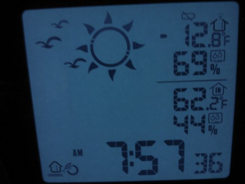Morning Temp 1/15/09