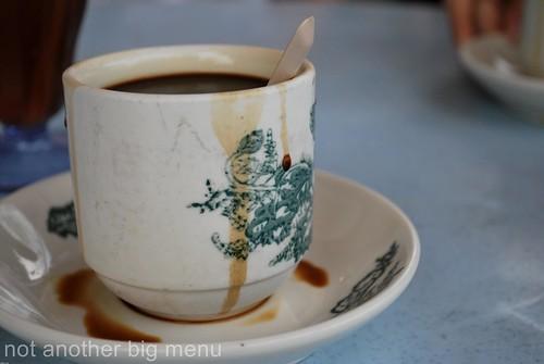 MJ Cafe traditional white kopi