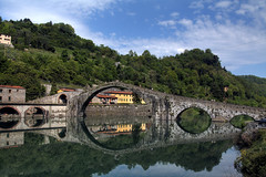 Ponte del Diavolo - Devil's bridge photo by Bluesky71