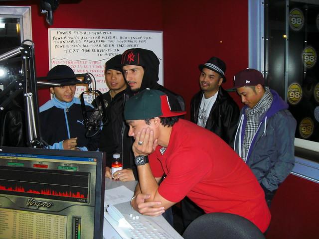 Jabbawockeez at Power 98.3 FM   Flickr - Photo Sharing!