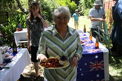 Backyard bbq, Australia Day