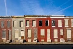 Abandoned Rowhouses - Baltimore, MD photo by crabsandbeer (Kevin Moore)
