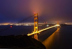 Golden Gate Bridge Glow photo by photofanman