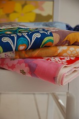Vintage fabric blankets photo by lutterlagkage