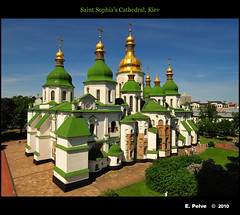 Saint Sophia's Cathedral, Kiev photo by episa