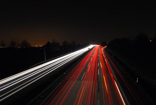 Fließender Verkehr