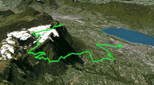 Mont Revard - Google Earth