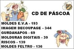 CD DE PÁSCOA ,MOLDES, IMAGENS E RISCOS photo by Ateliê Pintando o Sete by Sibele Maria