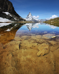 Riffelsee photo by Jeff Pang